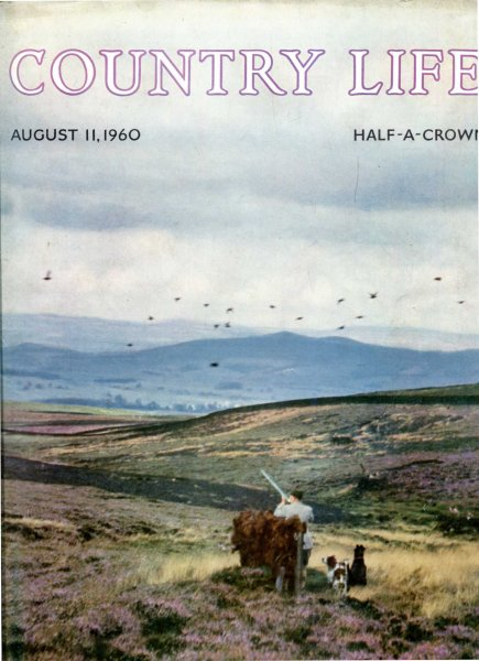 Image for Country Life volume CXXVII No 3310 August 11 1960