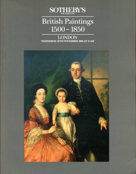 Image for British Paintings 1500-1850, London, 16th November, 1988