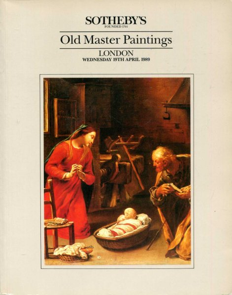Image for Old Master Paintings, London 19th April, 1989