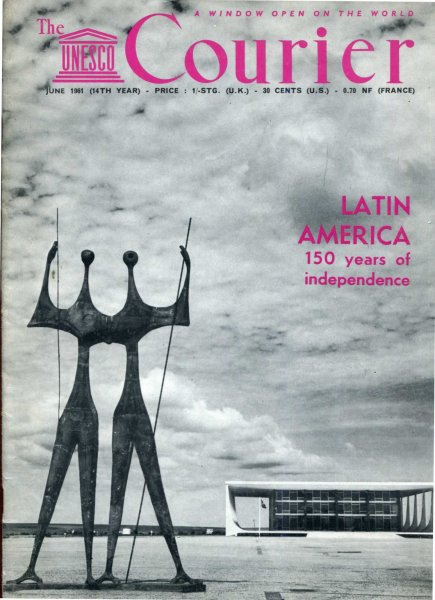 Image for The Unesco Courier, June 1961 Latin America 150 years of Independence