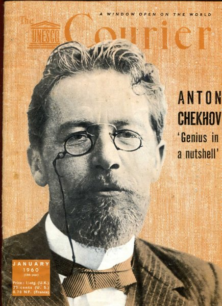 Image for The Unesco Courier, January 1960 Anton Chekhov 'Genius in a nutshell'