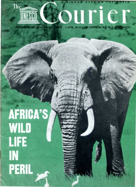 Image for The Unesco Courier, September 1961 Africa's Wild Life in Peril