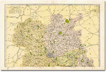 Image for Shropshire - North (1900): Cassini Historical Map