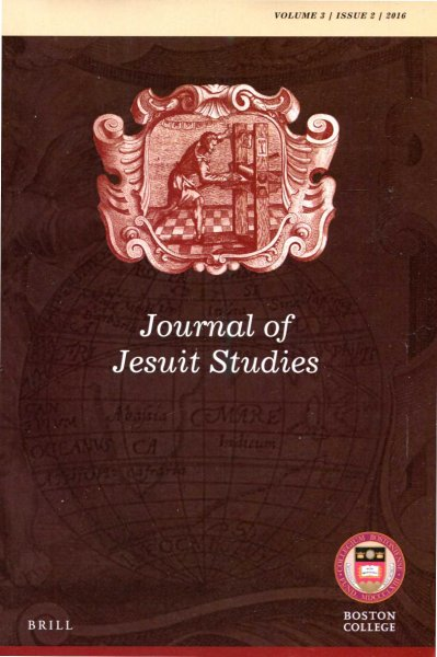 Image for Journal of Jesuit Studies volume 3, issue 2