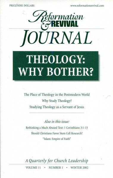 Image for Reformation & Revival Journal, volume 11, Number 1, Winter 2002