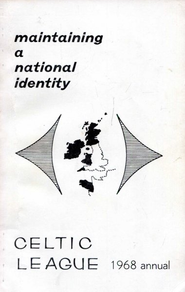 Image for Maintaining a National Identity, 1968 Annual Book of the Celtic League