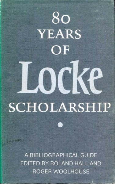 Image for Eighty Years of Locke Scholarship : Bibliographical Guide
