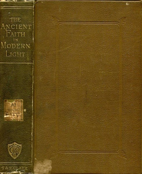 Image for The Ancient Faith in Modern Light, a series of essays