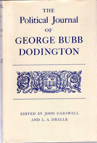 Image for The Political Journal of George Bubb Dodington