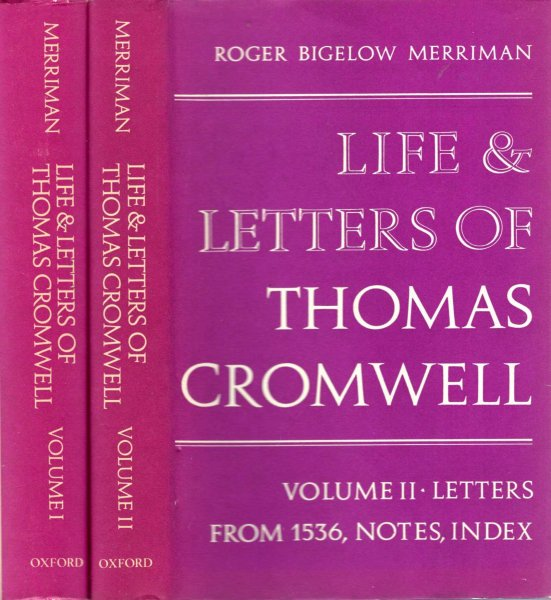 Image for Life & Letters of Thomas Cromwell (two volumes, complete)