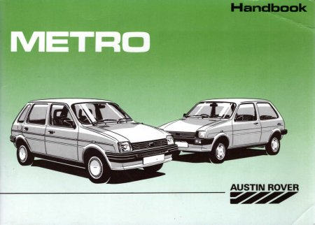 Image for Austin Rover Metro Handbook 1.0 & 1.3 saloons and vans