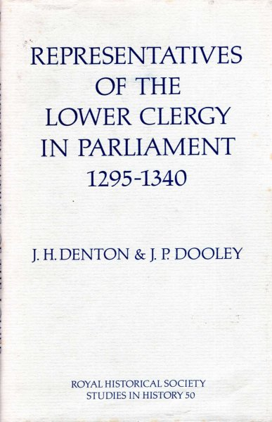 Image for Representatives of the Lower Clergy in Parliament 1295-1340