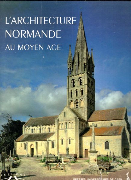 Image for L'architecture normande au Moyen Age (2 volumes)