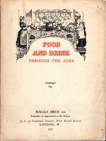 Image for Food and Drink Through the Ages, Catalogue 645