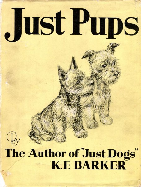 Image for Just Pups, sketches in pen & pencil