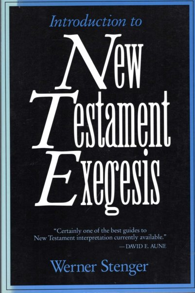 Image for Introduction to New Testament Exegesis
