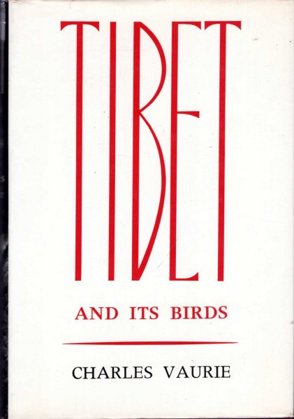 Image for Tibet and Its Birds