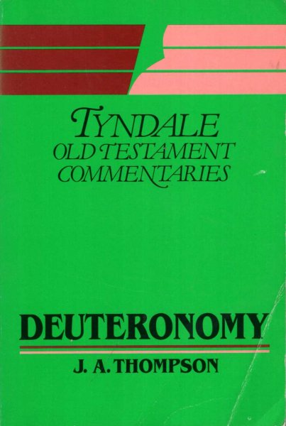 Image for Deuteronomy : An Introduction And Commentary (Tyndale OT Commentaries)