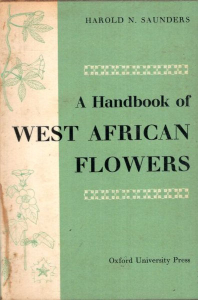 Image for A Handbook of West African Flowers
