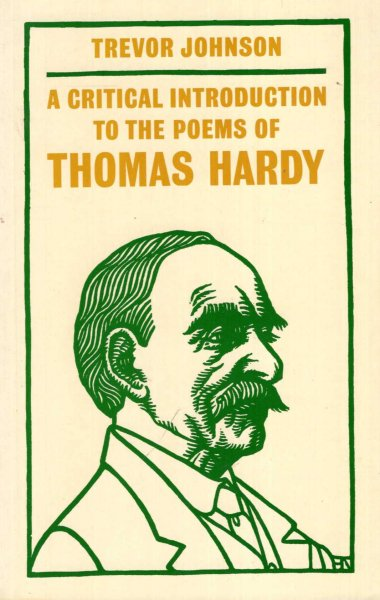 Image for A Critical Introduction to the Poems of Thomas Hardy