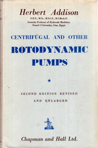 Image for Centrifugal and Other Rotodynamic Pumps