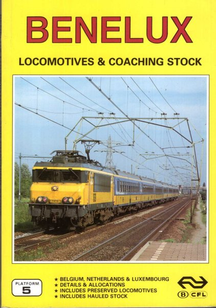 Image for Benelux Locomotives and Coaching Stock