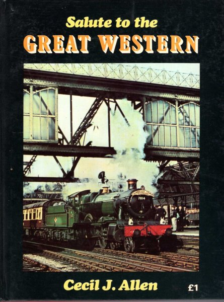 Image for Salute To The Great Western