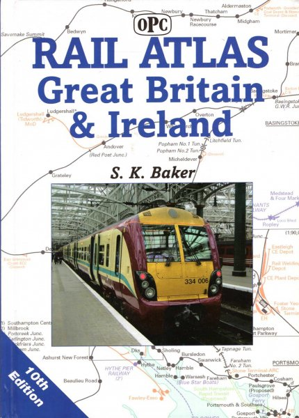 Image for Rail Atlas Great Britain and Ireland