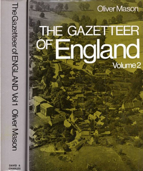 Image for The Gazetteer of England (two volumes)