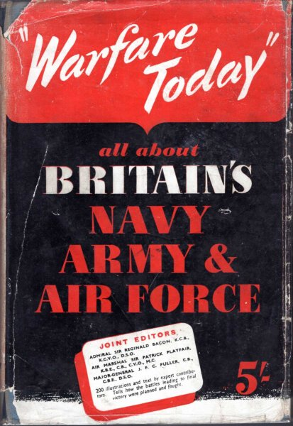 Image for Warfare Today - how modern battles are planned and fought on land, at sea and in the air