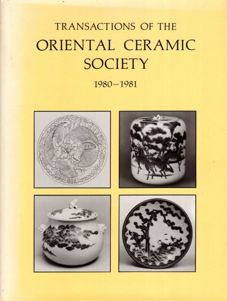 Image for Transactions of the Oriental Ceramic Society, 1980-1981