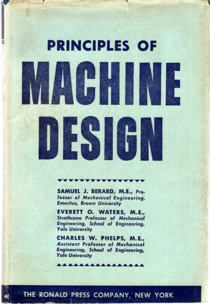 Image for Principles of Machine Design