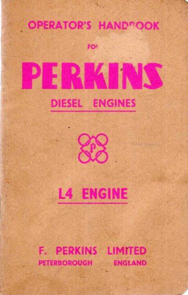 Image for Operator's Handbook of the Perkins Diesel Engine - L4 Engine