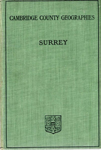 Image for Cambridge County Geographies : Surrey