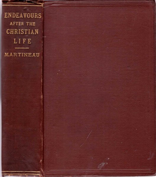 Image for Endeavours after the Christian Life : Discourses
