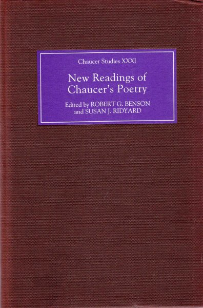 Image for New Readings of Chaucer's Poetry (Chaucer Studies)