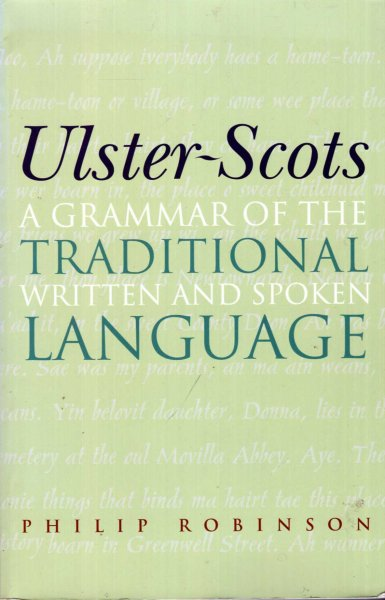 Image for Ulster-Scots : A Grammar of the Traditional Written and Spoken Language