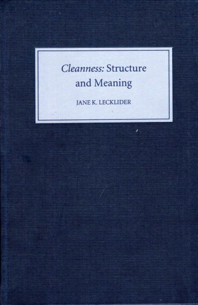 Image for Cleanness : Structure and Meaning