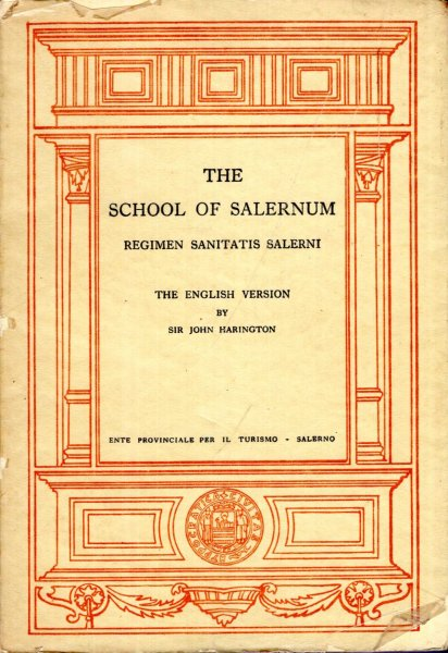 Image for The School of Salernum Regimen Sanitatis Salerni