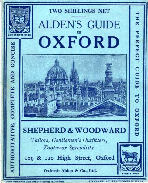 Image for Alden's Oxford Guide with Notes on the District and Rivers