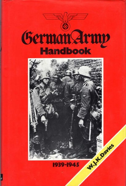 Image for German Army Handbook, 1939-1945,