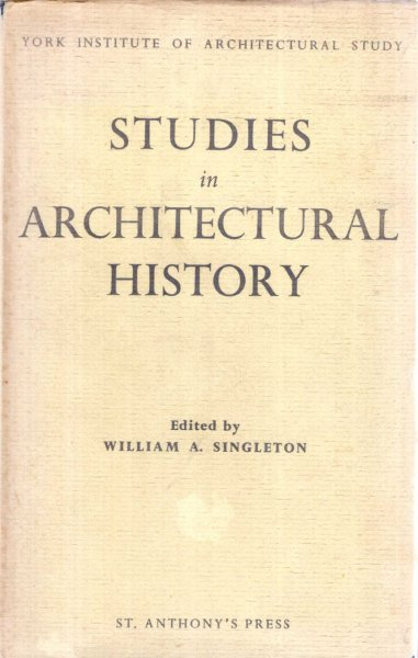 Image for Studies in Architectural History