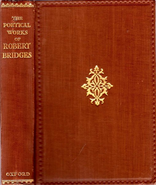 Image for Poetical Works of Robert Bridges excluding the Eight Dramas