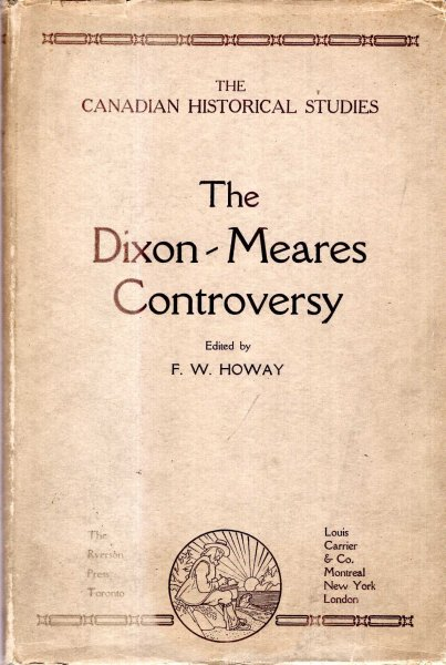 Image for The Canadian Historical Studies : The Dixon-Meares Controversy