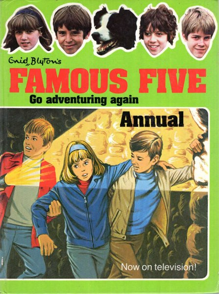 Image for Enid Blyton's Famous Five Go Adventuring Again Annual 1979