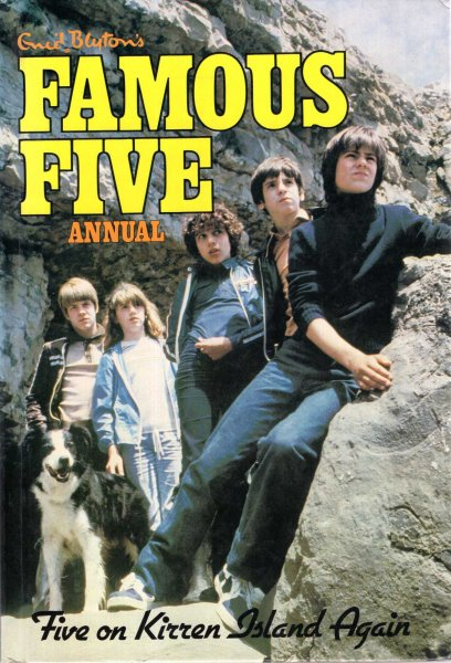 Image for Enid Blyton's Famous Five Annual : Five on Kirren (sic) Island Again