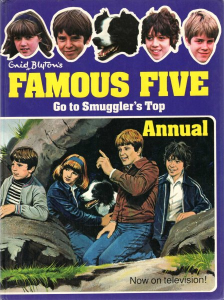 Image for Enid Blyton's Famous Five Go To Smugglers Top Annual