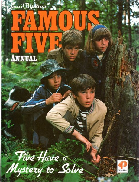 Image for Enid Blyton's Famous Five Annual : Five Have a Mistory to Solve