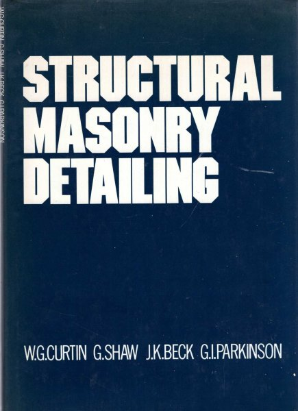 Image for Structural Masonry Detailing