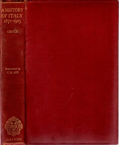 Image for A History of Italy 1871-1915